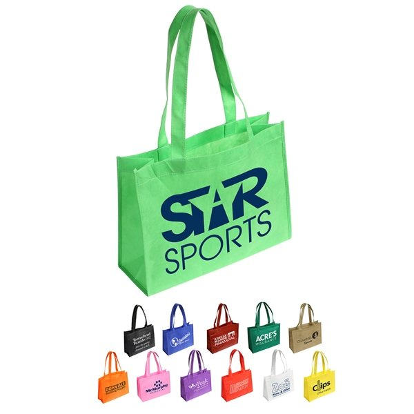 Promotional Tropic Breeze Non - Woven Tote Bag - 16 x 12