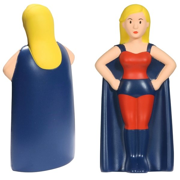 Promotional Super Heroine - Stress Relievers