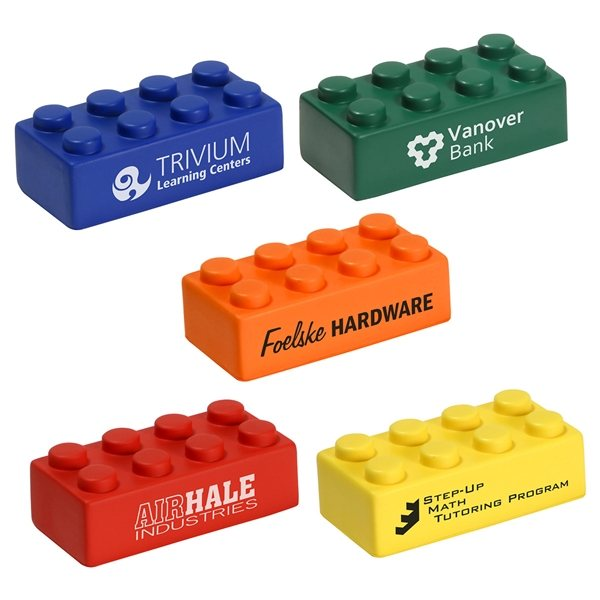 Promotional Building Block Individual Piece - Stress Relievers