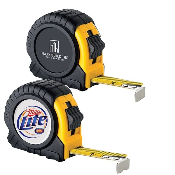 Promotional 16 Ft. Metal Tape w Safety Lock