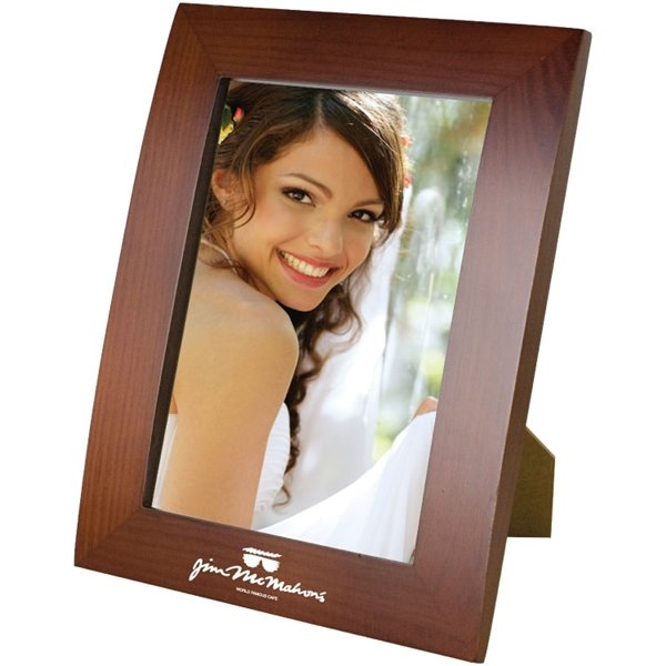 Promotional 4X6 Walnut Finish Photo Frame