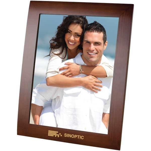 Promotional 8X10 Walnut Finish Photo Frame