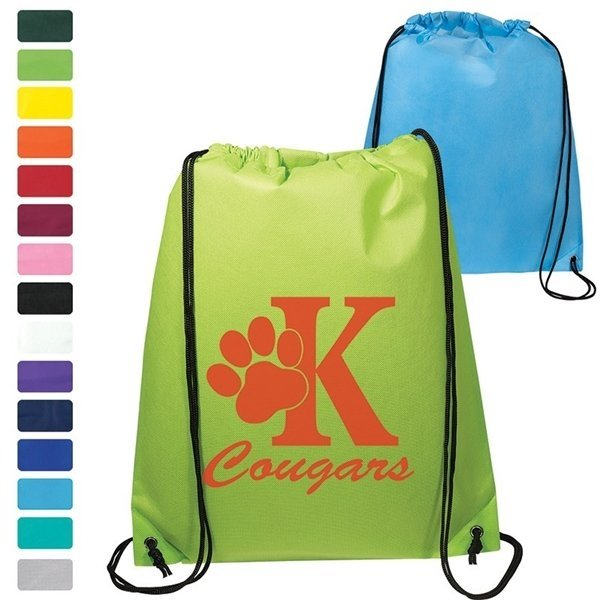Promotional Econo Non - Woven String Backpack