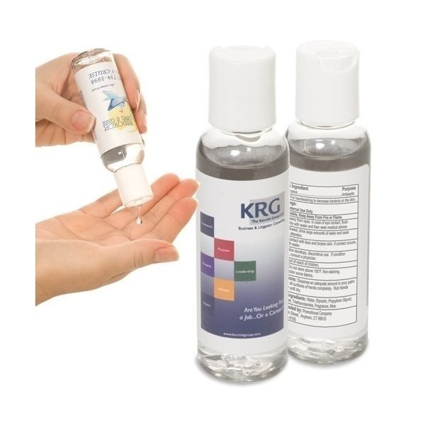 Promotional Hand Sanitizer in Round Bottle 2 oz.