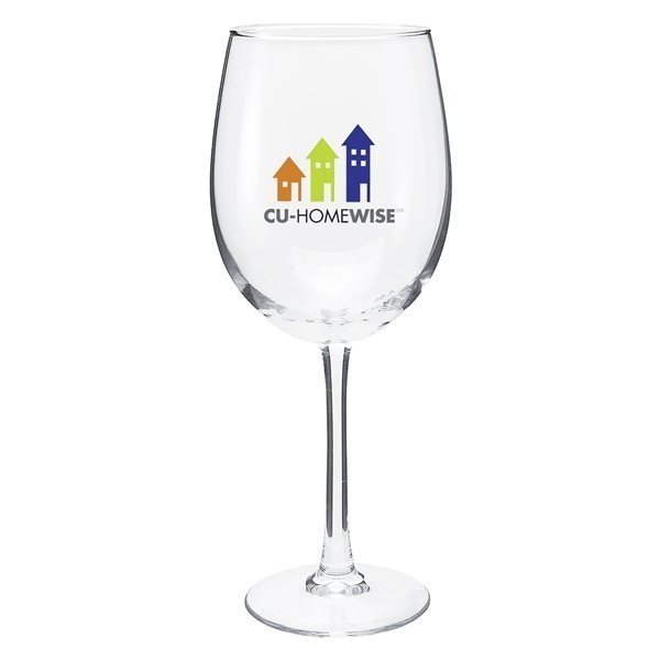 Promotional 19 oz Cachet White Wine - Clear