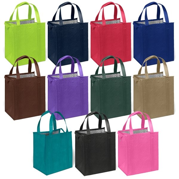 Promotional Non - Woven Thermal Vista Tote Bag - 13 x 15