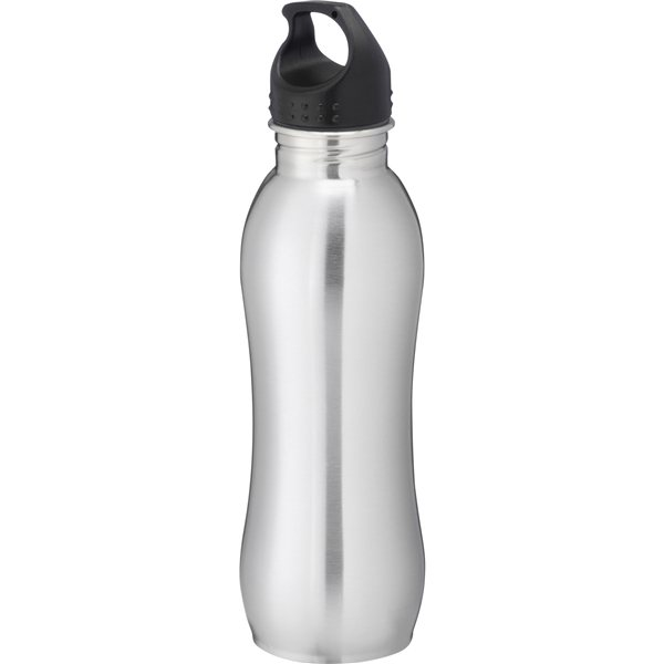Promotional Curve 25 oz Stainless Sports Bottle