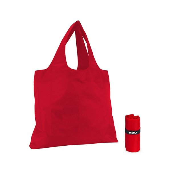 Promotional MoMA Red Fold - Up Bag