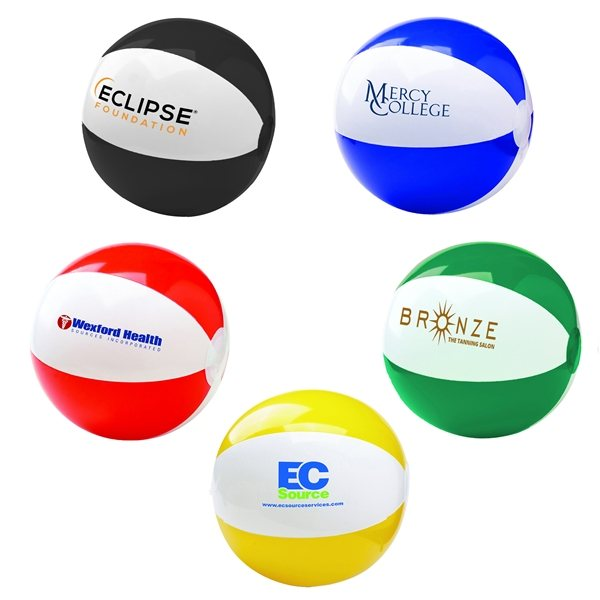 Promotional 6 Two - Tone Beach Ball