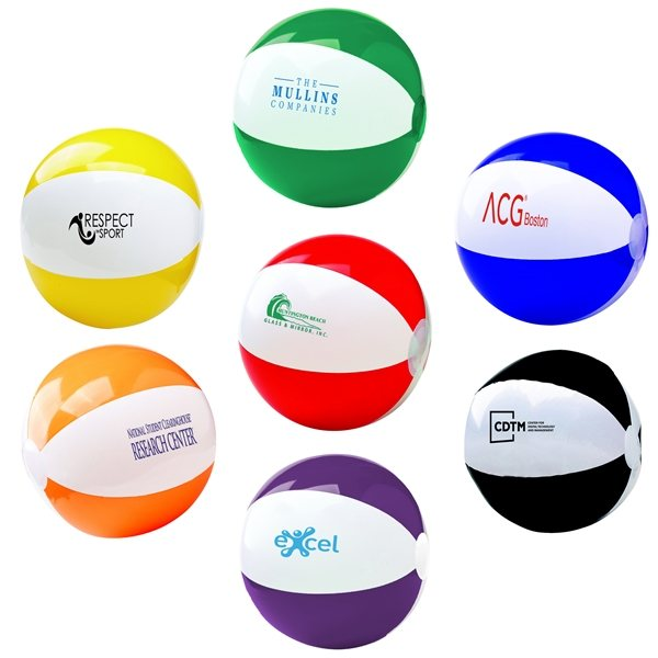 Promotional 12 Two - Tone Beach Ball