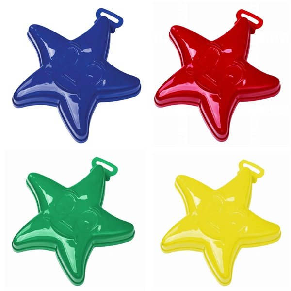 Promotional 7 Star Fish Sand Mold