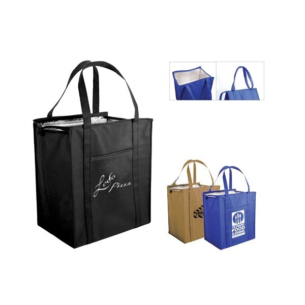 Promotional Non - Woven Large Insulated Bag