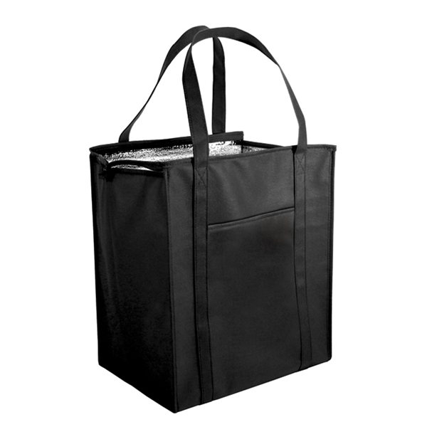 Promotional Non - Woven Large Insulated Bag, Full Color Digital