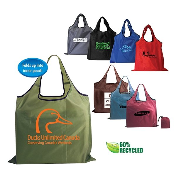 Promotional RPET Fold - Away Carry All