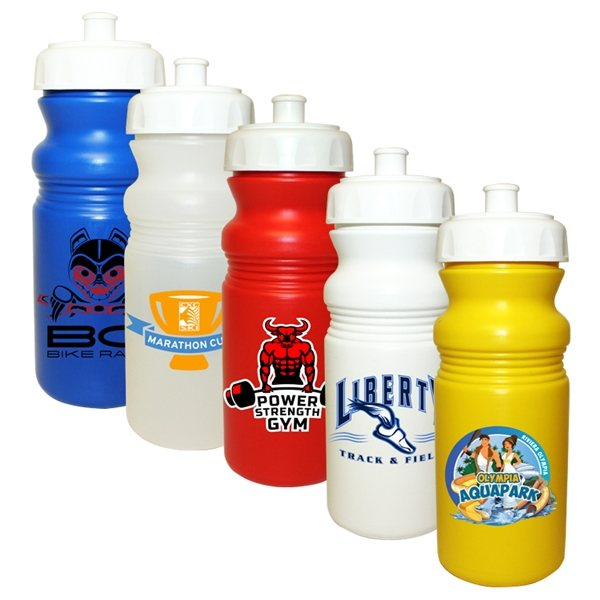 Promotional 20 oz Cycle Bottle (1 Side), Full Color Digital