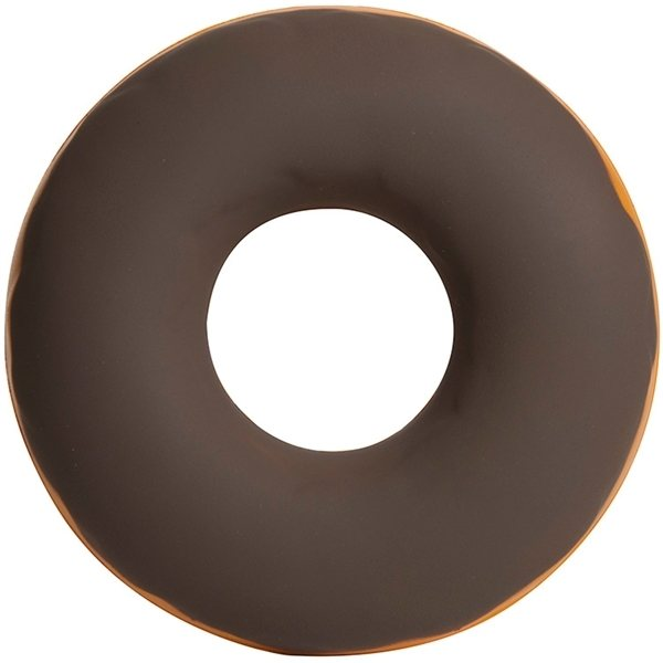 Promotional Chocolate Covered Donut Squeezies Stress Reliever