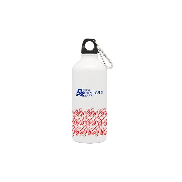 Promotional 20 oz Aluminum Sports Water Bottle