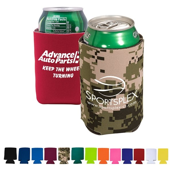 Promotional Custom Folding Can Cooler Sleeve