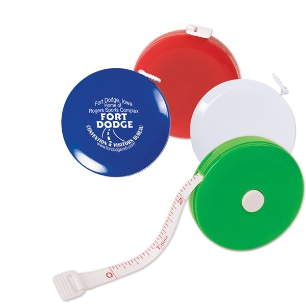 Promotional 5 Ft. Round Tape Measure