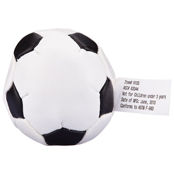 Promotional Soccer Kick Sack - Stress Relievers