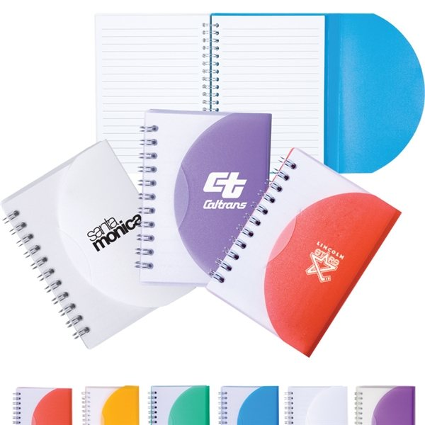 Promotional Small Spiral Curve Notebook