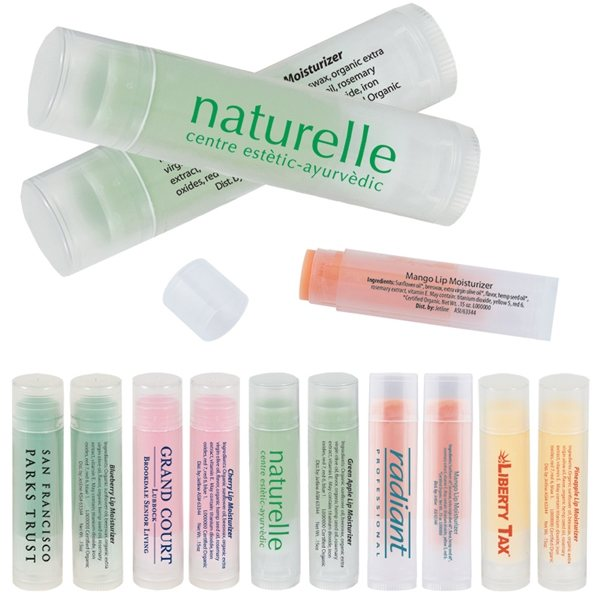 Promotional All Natural Fruity Lip Moisturizer