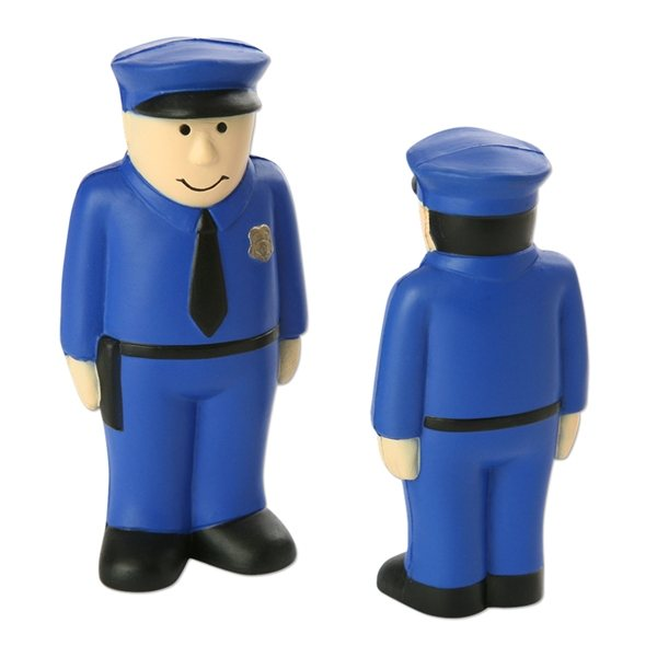 Promotional Policeman Stress Reliever