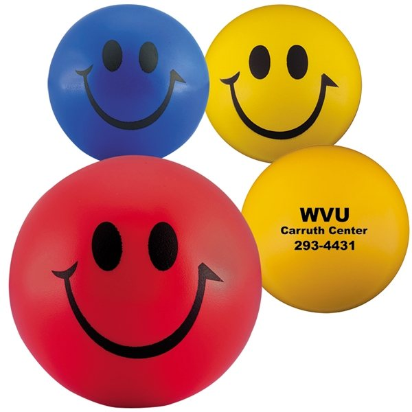 Promotional Smiley Face Stress Reliever