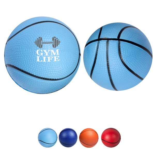 Promotional Polyurethane Basketball Stress Reliever