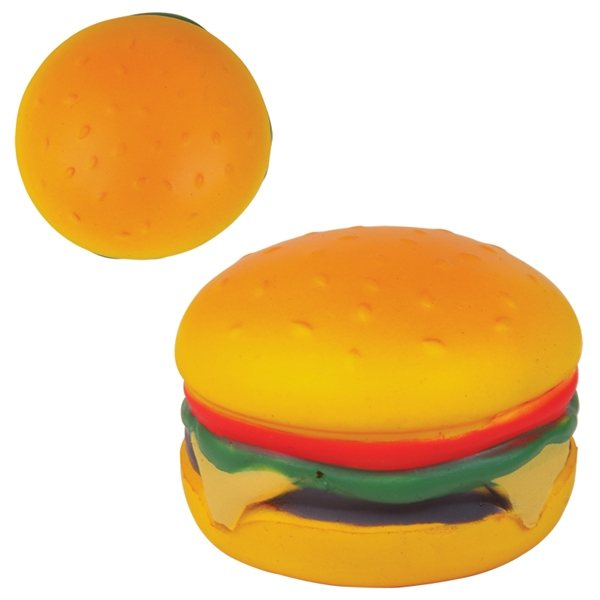 Promotional Hamburger Stress Reliever