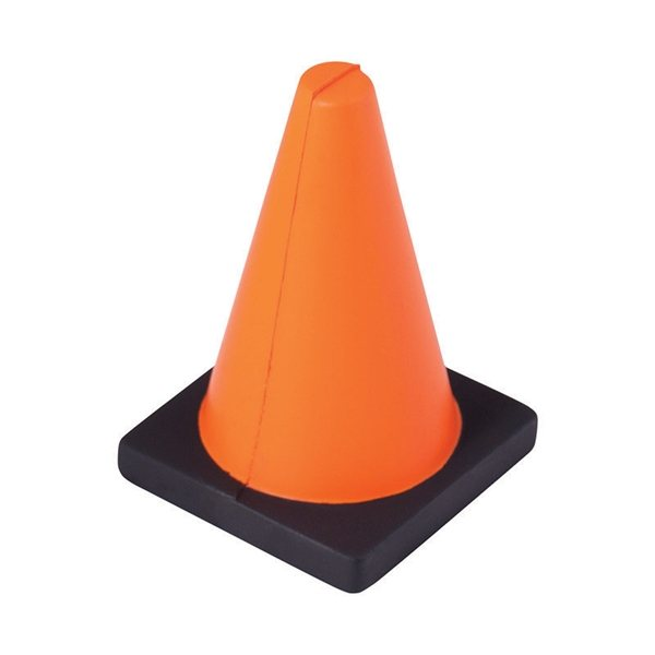 Promotional Construction Cone Stress Reliever