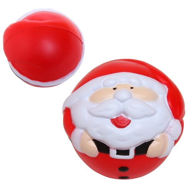 Promotional Santa Stress Reliever