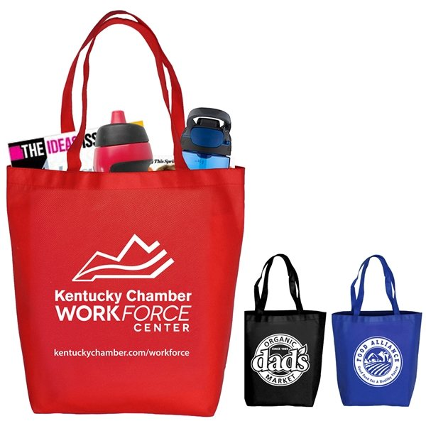 Promotional Economy Grocery and Shopping Tote Bag