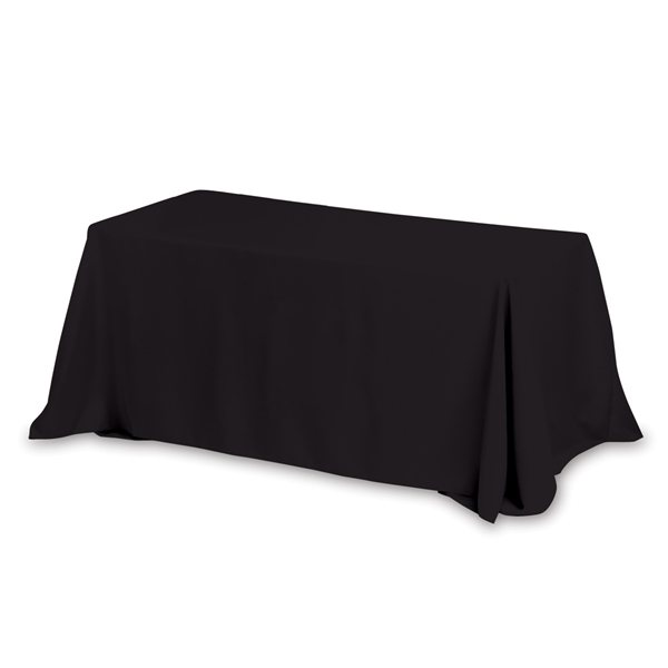 Promotional 83- Sided Economy Table Covers Table Throws