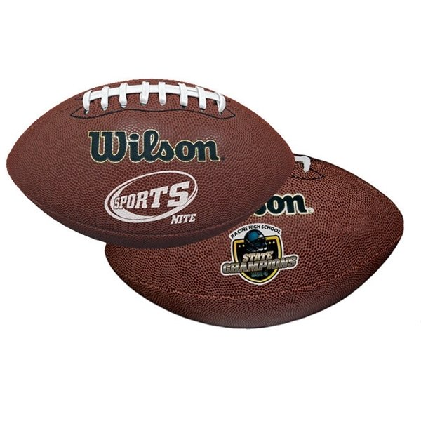 Promotional Wilson(R) Premium Composite Leather Football