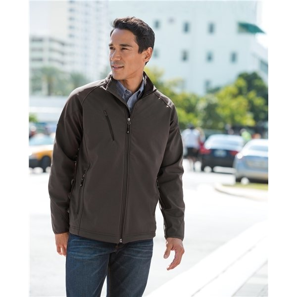 Promotional Port Authority Textured Soft Shell Jacket - COLORS