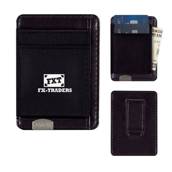 Promotional Executive RFID Money Clip Card Holder