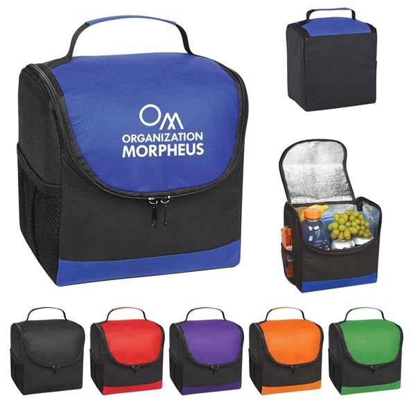 Promotional Non - Woven Thrifty Lunch Cooler Bag
