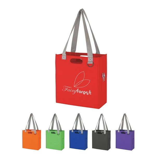 Promotional Non - Woven Expedia Tote Bag