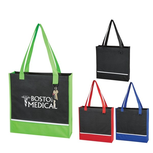 Promotional Non - Woven Accent Tote Bag