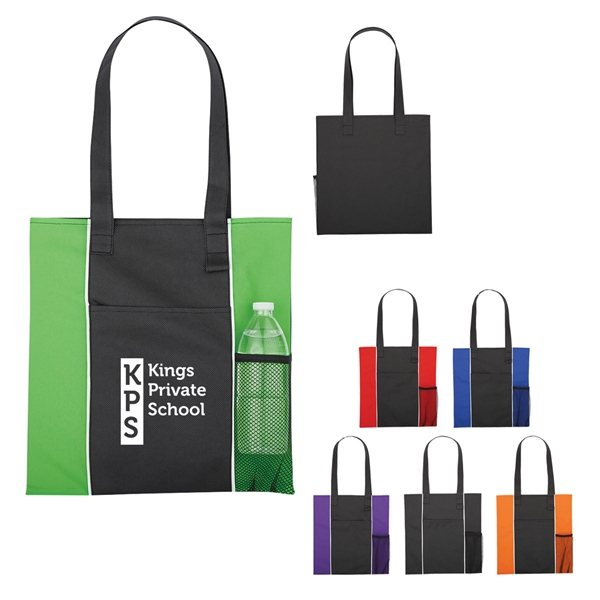 Promotional Non - Woven Brochure Tote Bag