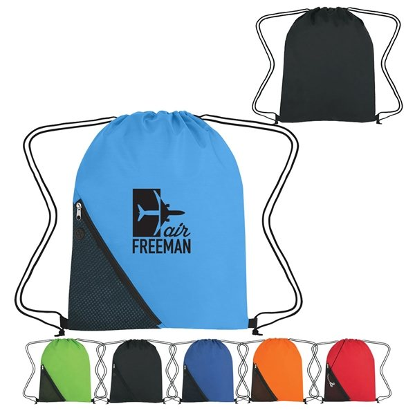 Promotional Sports Pack With Outside Mesh Pocket