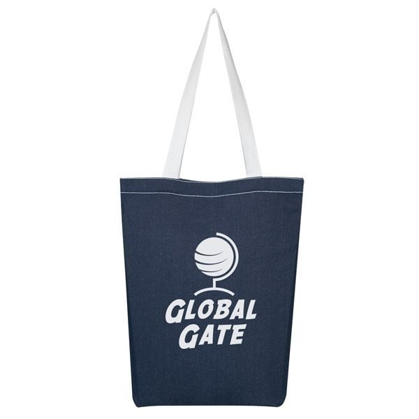 Promotional Denim Economy Tote Bag
