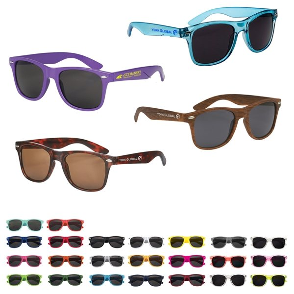 Promotional UV 400 Malibu Sunglasses