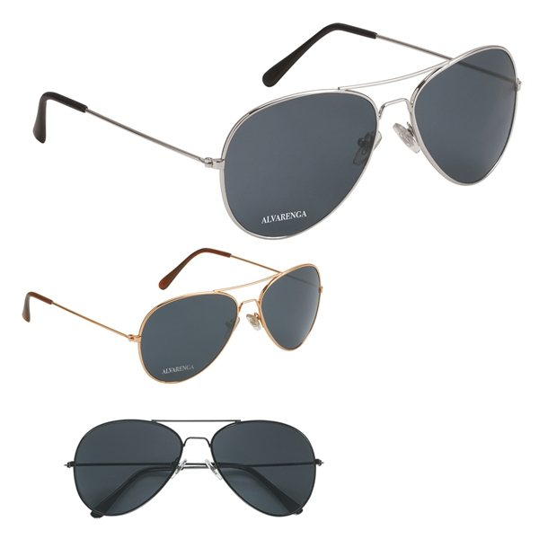 Promotional UV 400 Aviator Sunglasses