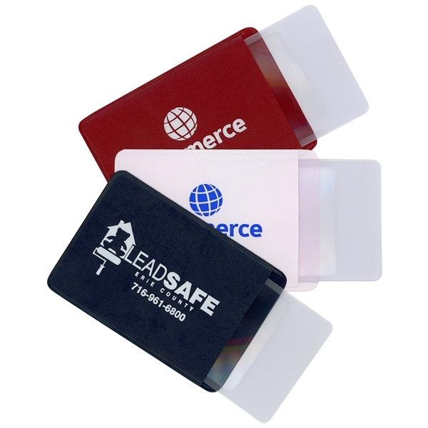 Promotional Credit Card Size Magnifier in Protective Case