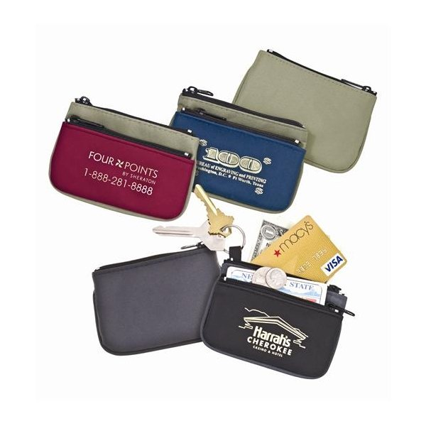 Promotional Two Tone Coin Purse