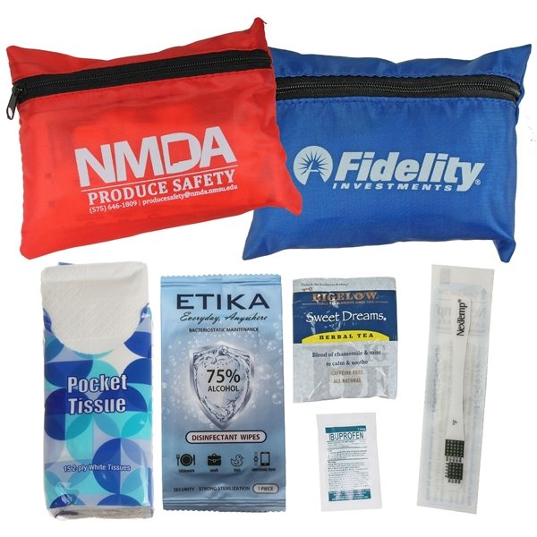 Promotional Flu Care Pouch