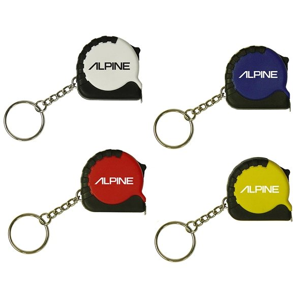 Promotional 39 Metal Tape Mini Tape Measure Keychain