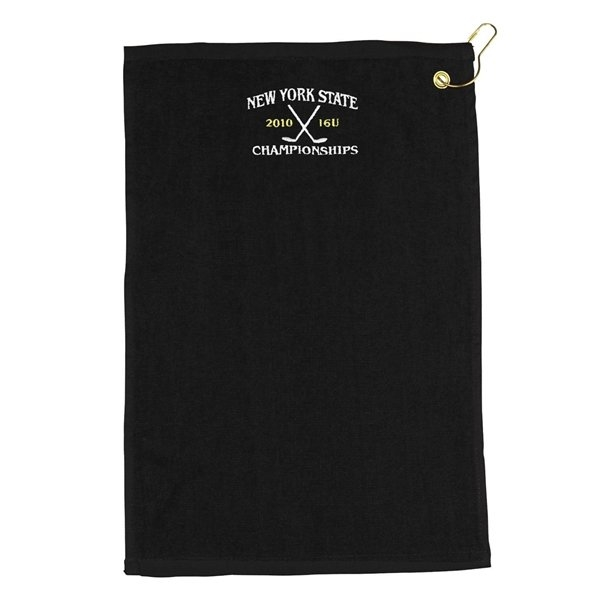 Promotional 18 Embroidered Golf Towel